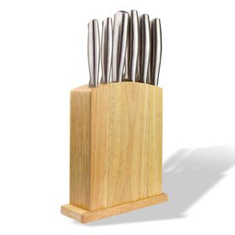 Messerset 7 teilig inkl. Holz Messerblock