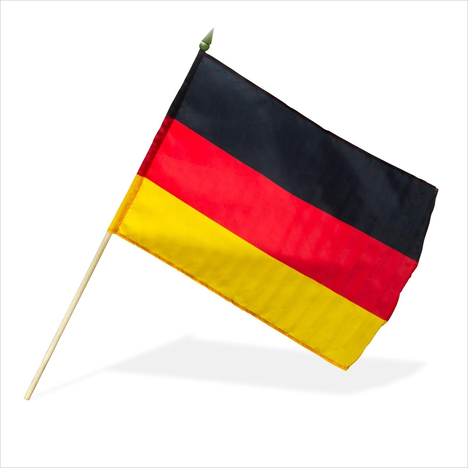 Dema 10 Stk. Deutschlandfahne / Deutschlandflagge 30x45 cm 94007x10