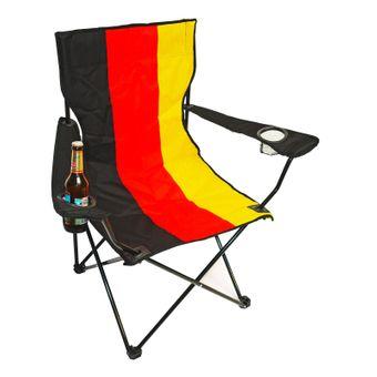 2er Set Campingstuhl / Klappstuhl Deutschland mit Tasche