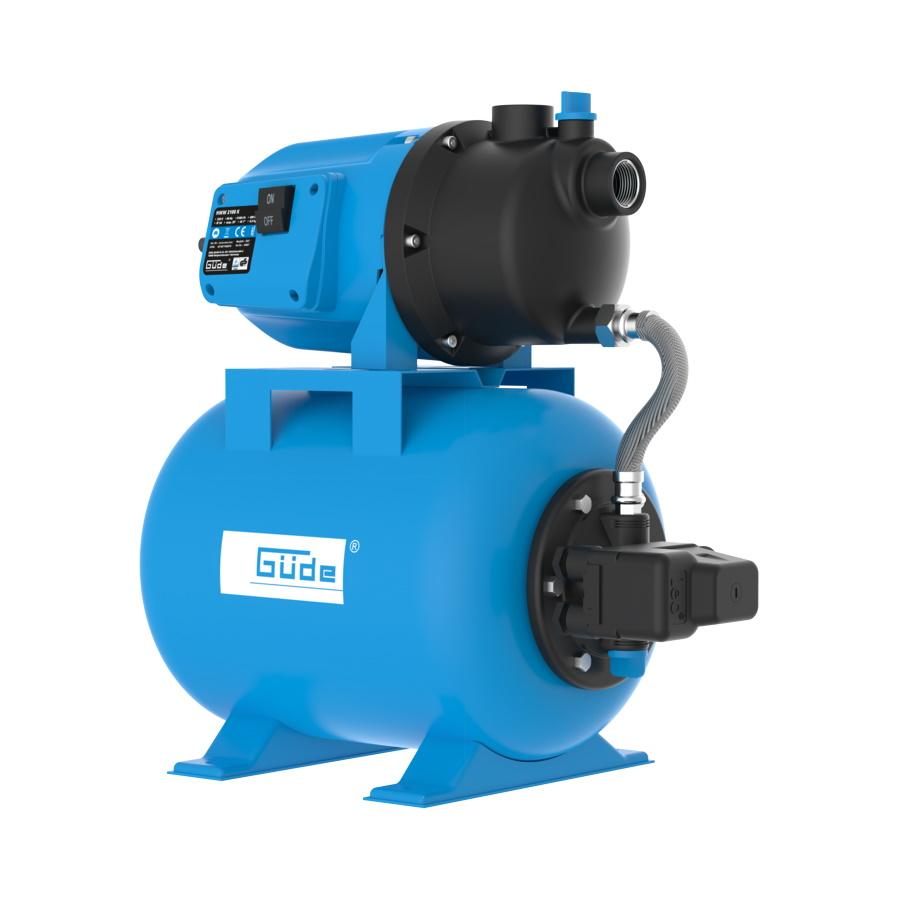 Güde Hauswasserwerk HWW 3100 K mit 24l Druckkessel 94667