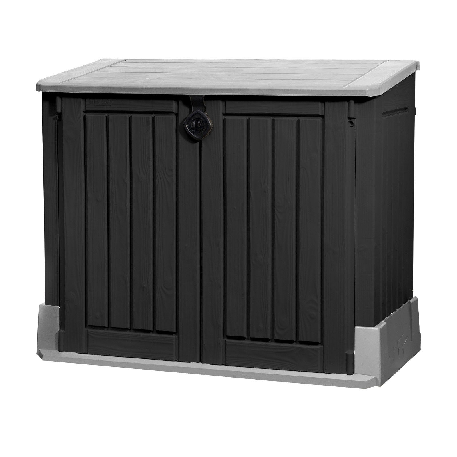 keter m lltonnenbox store it out midi f r 2x120 liter. Black Bedroom Furniture Sets. Home Design Ideas