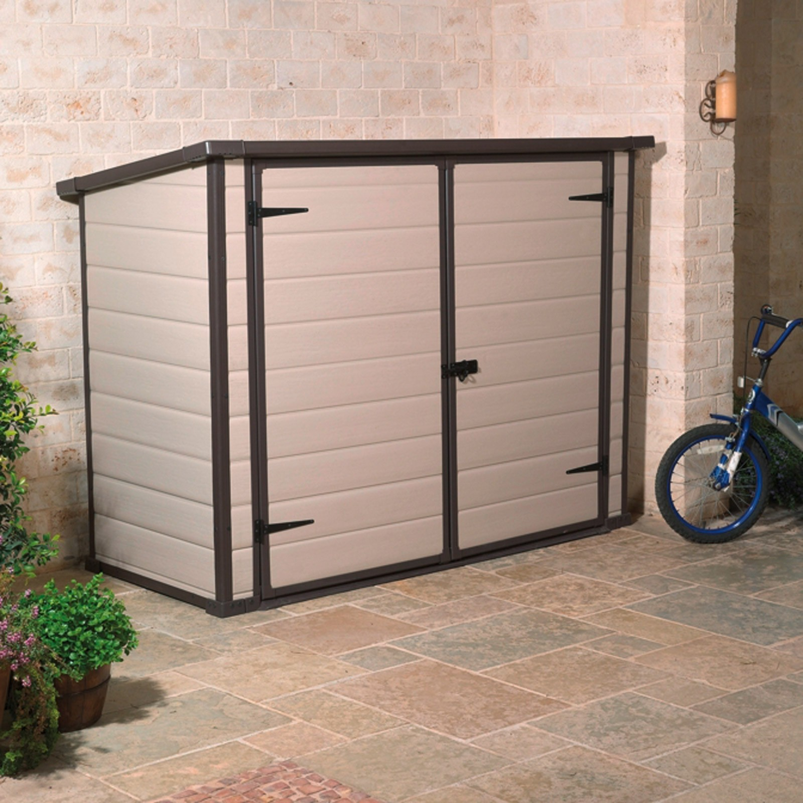 aufbewahrungsbox universalbox fahrradbox bike more. Black Bedroom Furniture Sets. Home Design Ideas
