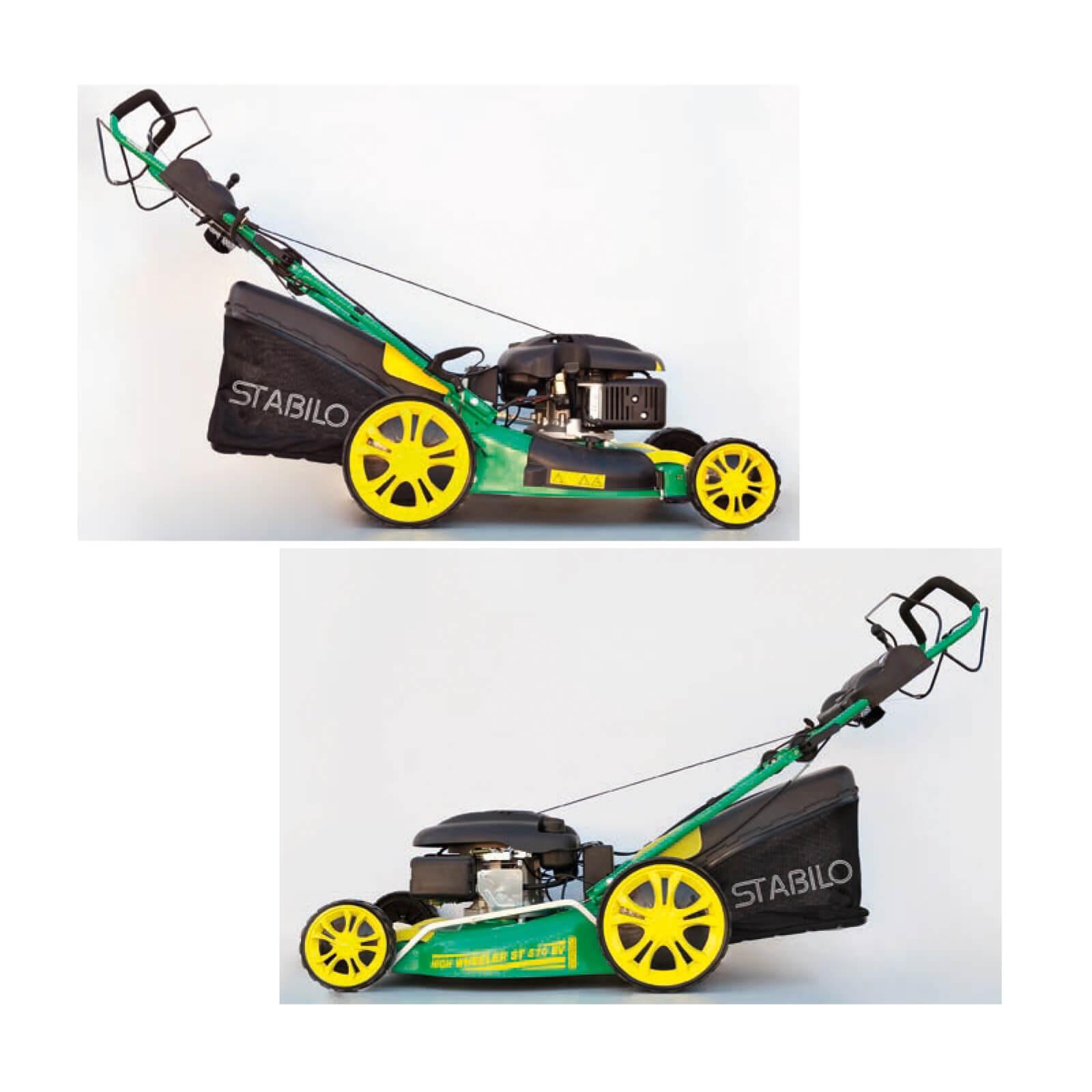 stabilo benzin rasenm her benzinrasenm her motorm her high wheeler st 510 ev ebay. Black Bedroom Furniture Sets. Home Design Ideas