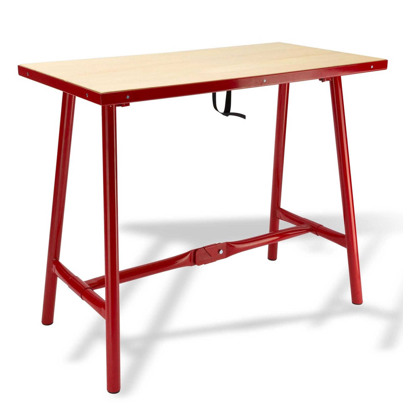Dema Klapp Werkbank Werktisch Arbeitstisch Klappwerkbank Klappwerktisch L 100x50 cm 40904