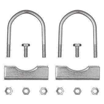 Stützradhalter / Klemmhalterbefestigung 70 mm 1 Paar für Stützrad