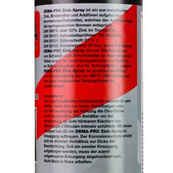 Zink Spray 400 ml grau matt – Bild $_i
