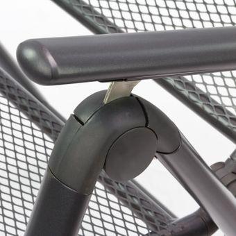 Gartenmöbel Metall 1 x Tisch rund 100x72 + 2 x Stuhl Set – Bild $_i