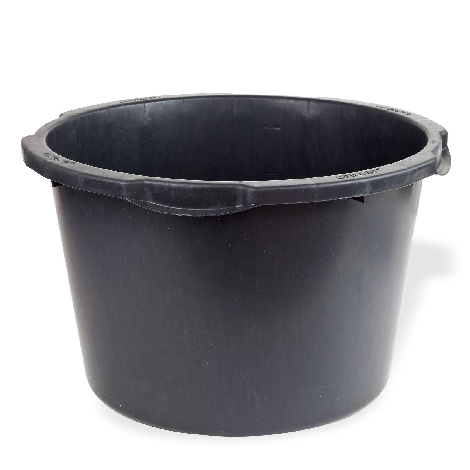 Dema Mörtelkübel Baukübel rund Ø 37/46 cm Mörtelwanne 45 Liter 15102