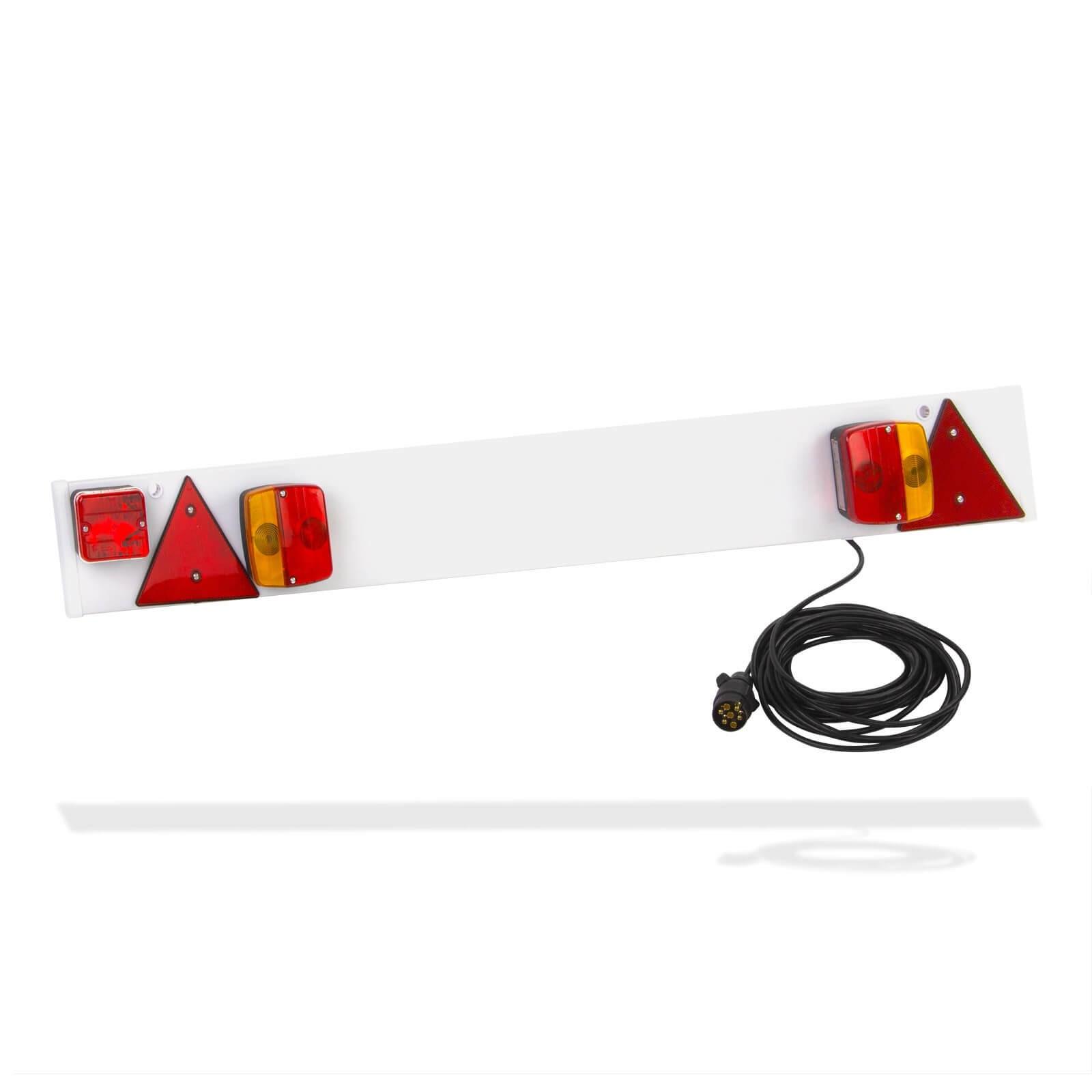 Dema Anhängerbeleuchtung 122cm 7-pol 12V Rückleuchten Rücklicht Lichtleiste Anhänger 69010
