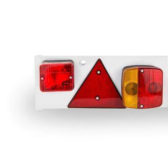 Anhängerbeleuchtung 122cm 7-pol 12V Rückleuchten Rücklicht Lichtleiste Anhänger – Bild $_i