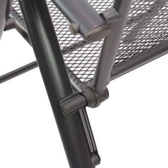 Gartenmöbel Streckmetall 1 x Tisch 150x90x72 + 2 x Stuhl Set – Bild $_i