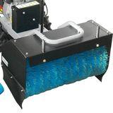 Güde Kehrmaschine GKM 6,5 ECO mit Kehrgutbehälter und Schneeschild