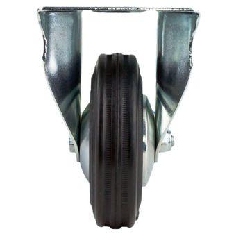 Transportrollen / Bockrollen gummiert d=100 mm bis 70 kg – Bild $_i