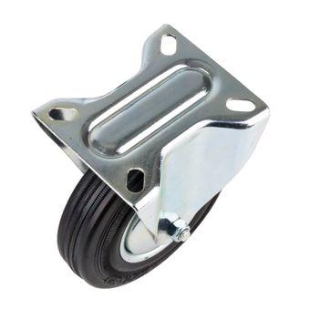 Transportrollen / Bockrollen gummiert d=125 mm bis 100 kg – Bild $_i