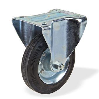 Transportrollen / Bockrollen gummiert d=160 mm bis 145 kg – Bild $_i