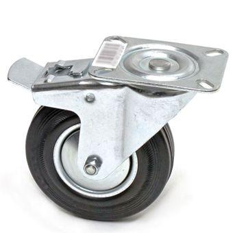Transportrollen / Lenkrollen mit Bremse d=160 mm bis 145 kg – Bild $_i
