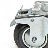 Transportrollen / Lenkrollen mit Bremse d=160 mm bis 145 kg