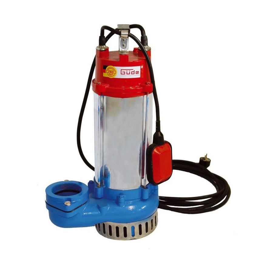Güde Schmutzwassertauchpumpe / Schmutzwasserpumpe PRO 2200A 75805