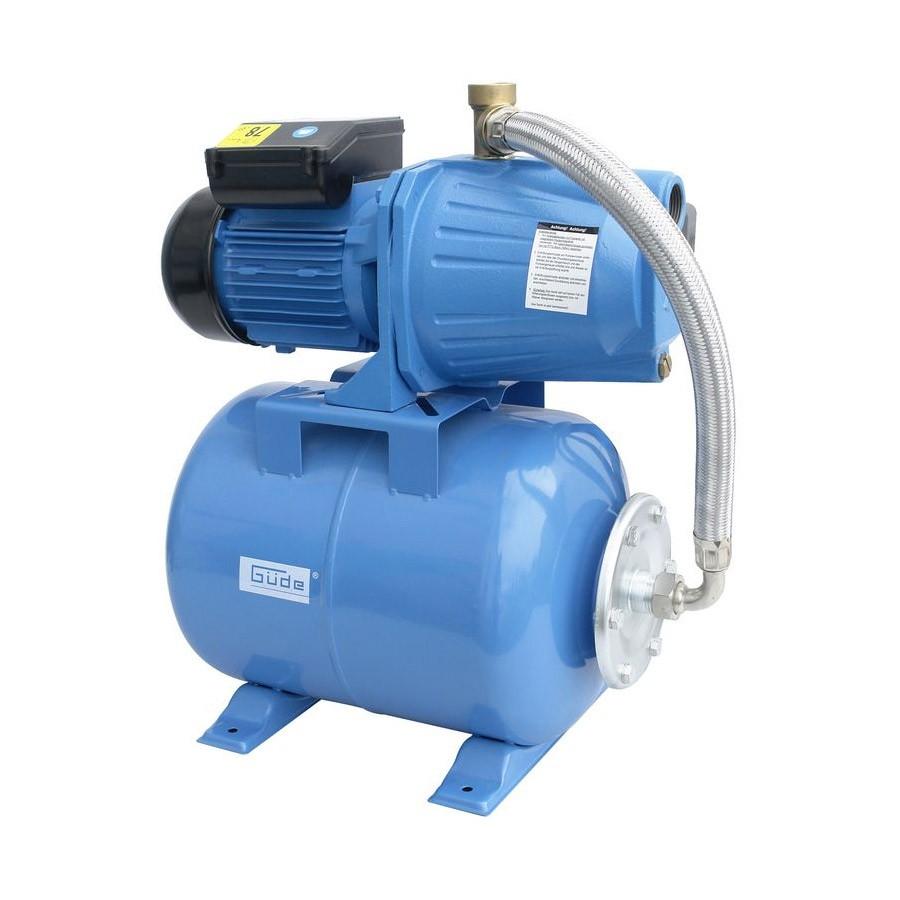 Güde Hauswasserwerk HWW 1300 G mit 24l Gartenpumpe mit Druckkessel 94195