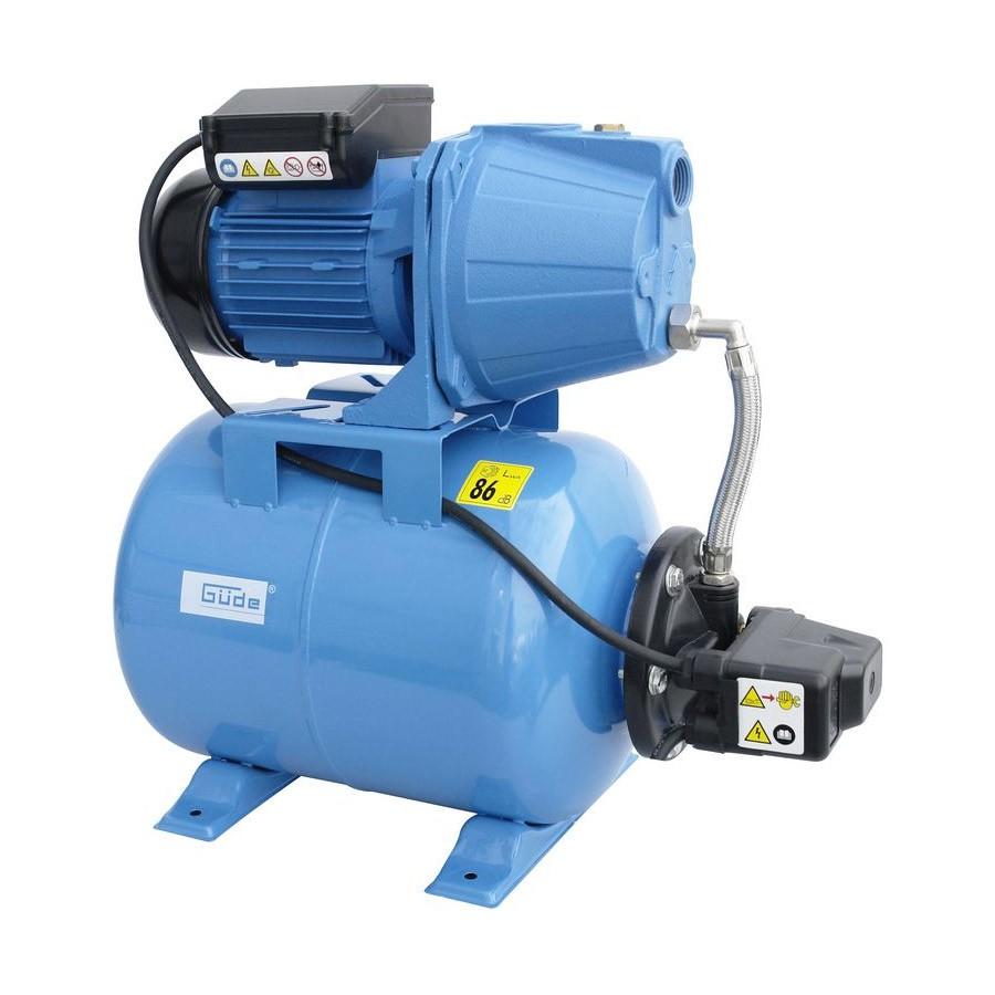 Güde Hauswasserwerk HWW 900 GC mit 24l Druckkessel 94686-aus