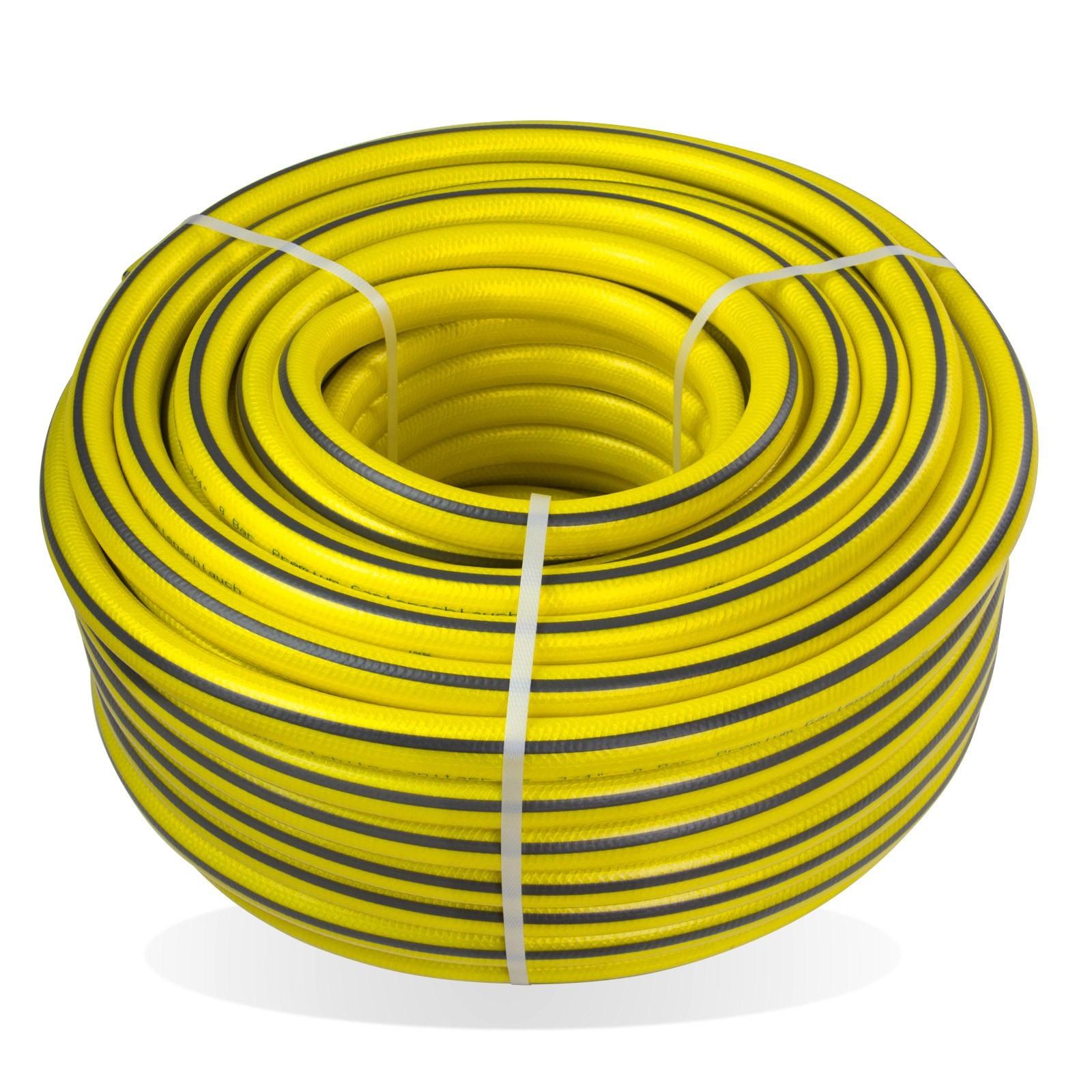 Stabilo-Sanitaer Premium Gartenschlauch / Wasserschlauch 1/2 Zoll 50 m knickfrei verdrehsicher 14485