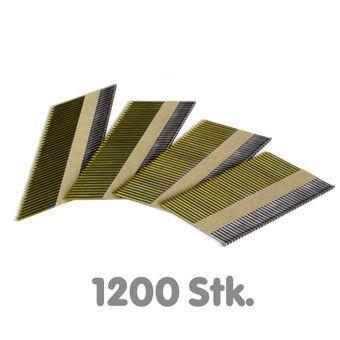 Streifennägel 1200 Stk. 34° 2,87x50 Nägel für Druckluftnagler – Bild $_i