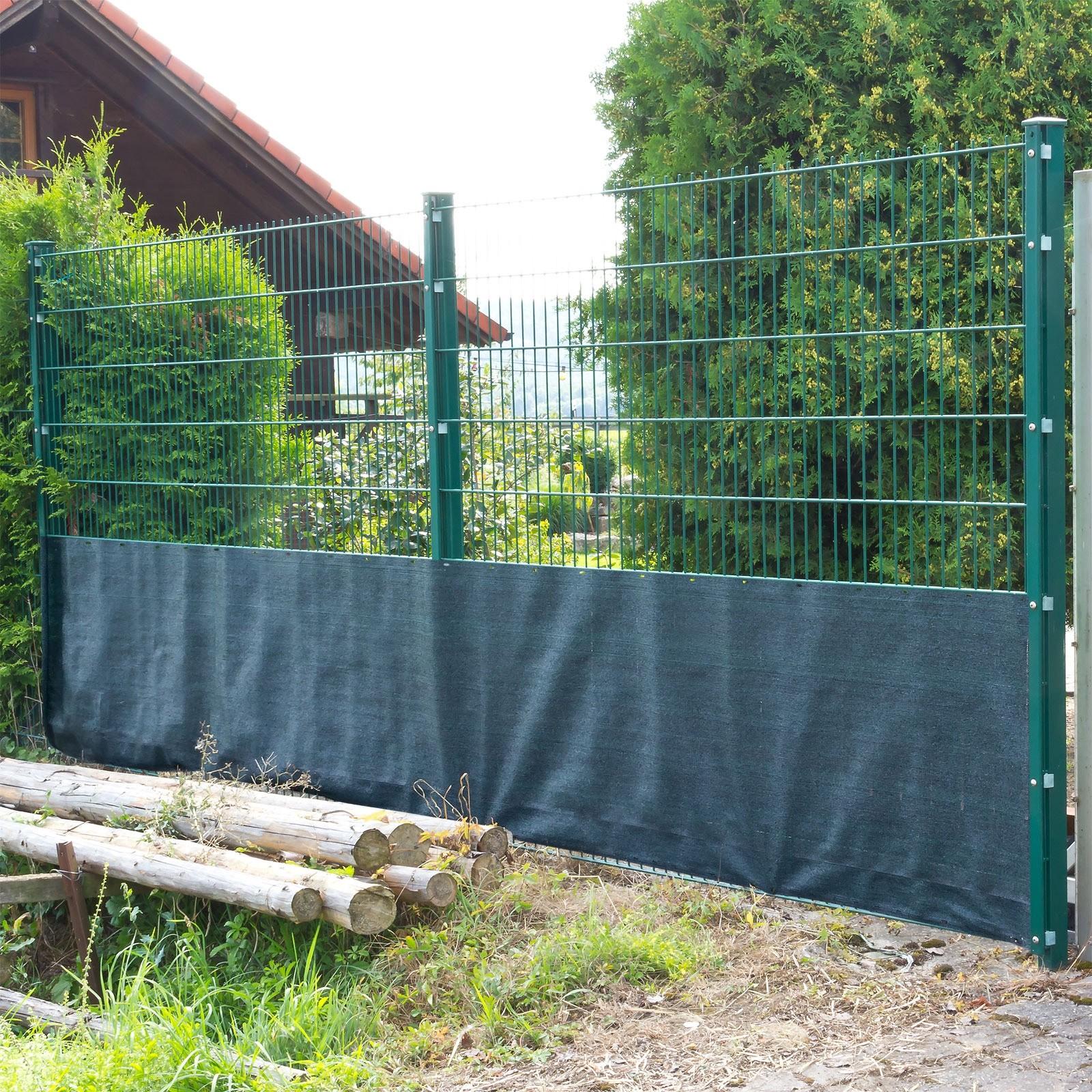 Dema Sichtschutz Zaunblende Tennisblende Windschutz Schattiernetz 25x1m 31210