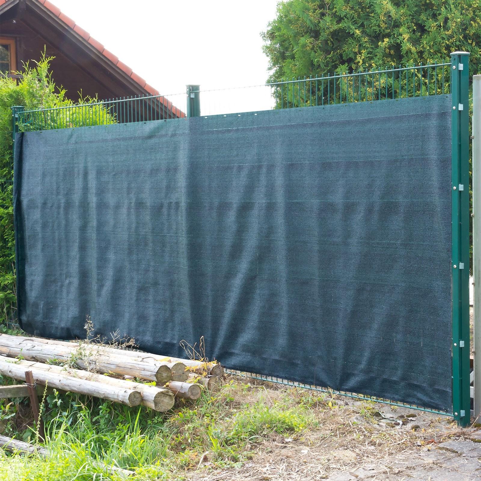 Dema Sichtschutz Zaunblende Tennisblende Windschutz Schattiernetz 25x1,8m 31213