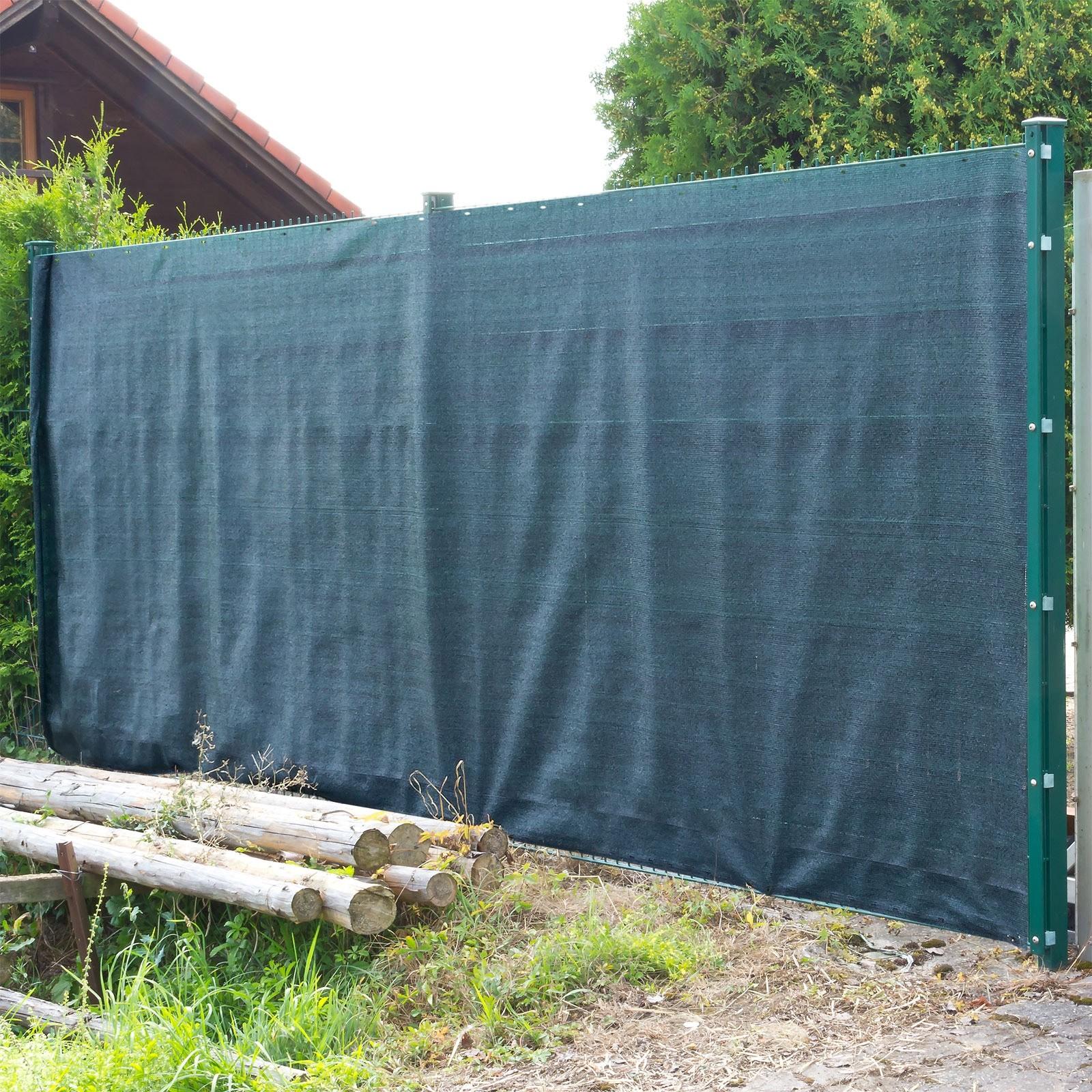 Dema Sichtschutz Zaunblende Tennisblende Windschutz Schattiernetz 25x2 m 31214