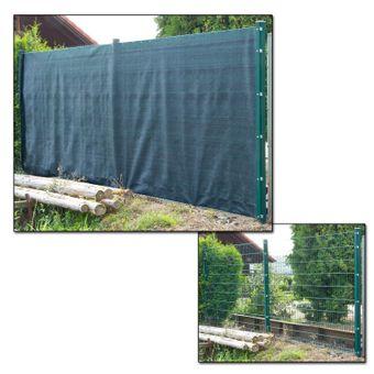 Sichtschutzzaun / Tennisblende 25x2 m – Bild $_i