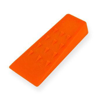Spaltkeil / Fällkeil Kunststoff 135x65x25 mm schlagzäh orange – Bild $_i