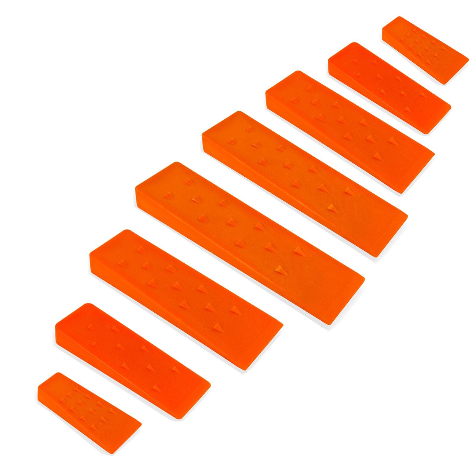 3er Set Spalt-Keil Kunststoff Fällkeil 205 mm Holzspalter Treibkeil Nachsetzkeil