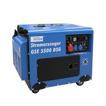 Güde Stromerzeuger / Notstromaggregat GSE 5500 DSG – Bild $_i
