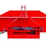 Heckcontainer / Kippmulde Kat 1 + 2 hydraulisch 125x150x40 cm