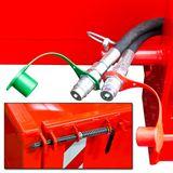 Heckcontainer / Kippmulde Kat 1 + 2 hydraulisch 125x200x40 cm