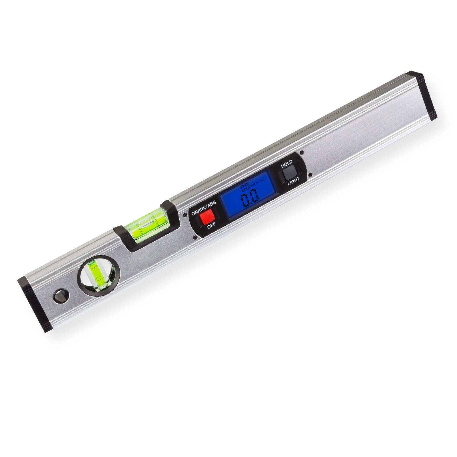 Dema Alu Wasserwaage Messgerät elektronisch digital 40cm + Magnethalter 20637