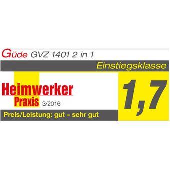 Güde Vertikutierer / Rasenlüfter GVZ 1401 2 in 1 – Bild $_i