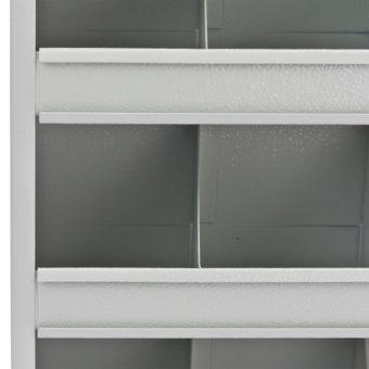 Kleinteilemagazin / Schüttenregal 36 Fächer Metall – Bild $_i