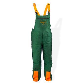 Forst Schnittschutz-Latzhose ECO grün/orange S-XXXL  EN 381-5 – Bild $_i