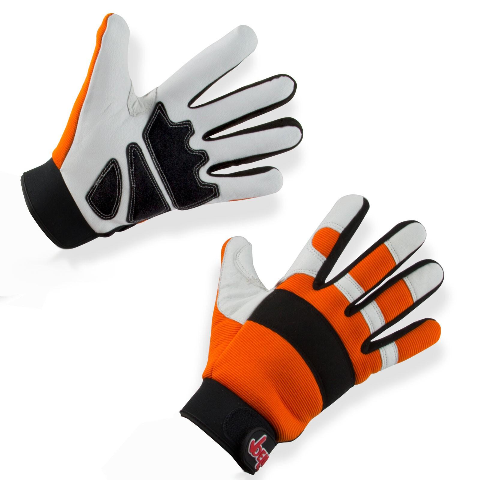Dema Marken Forst Handschuhe Schnittschutz Gr. 9-12 Class1 DIN EN 381 30245