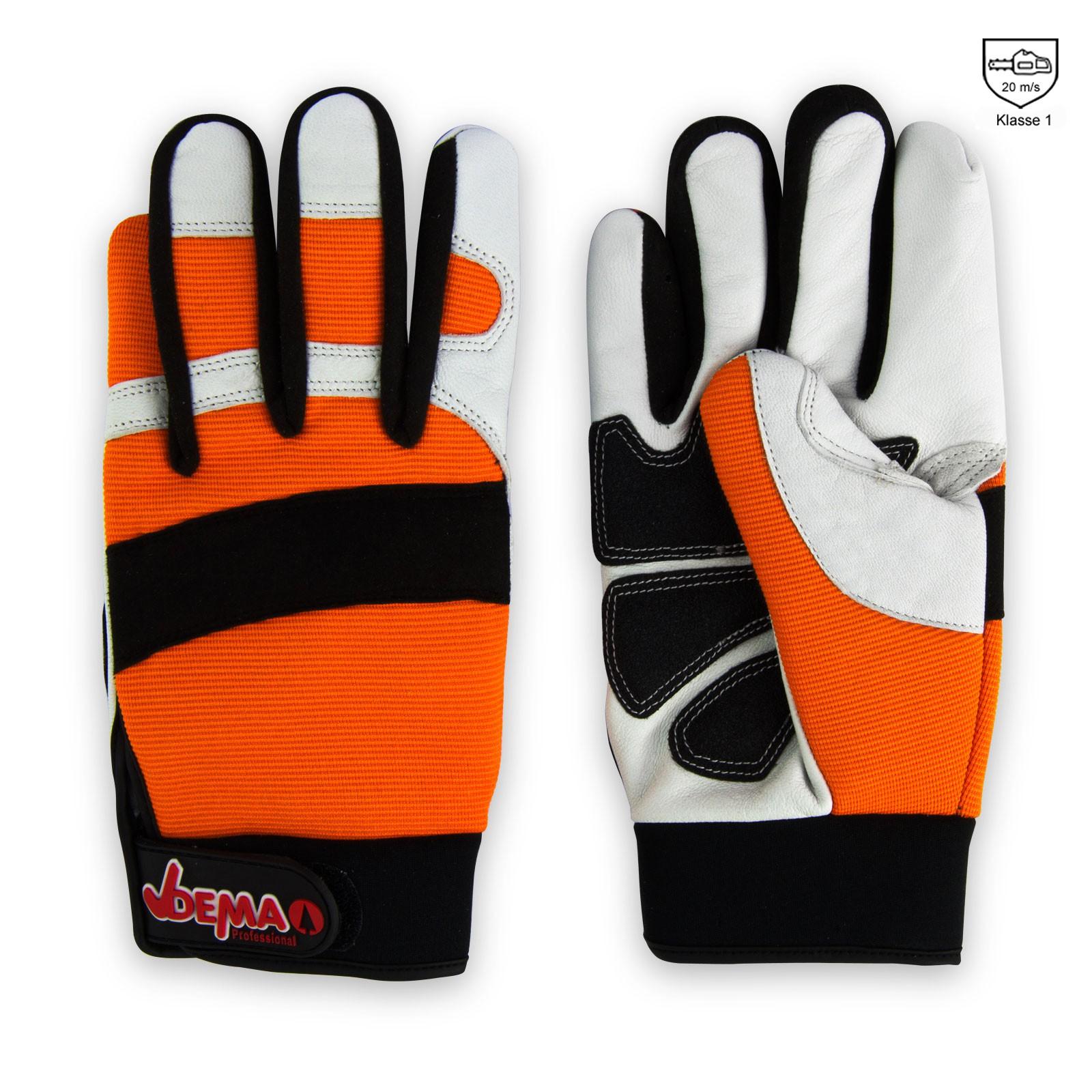 motorsägen handschuhe mit schnittschutz