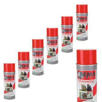 Schmiermittel Korrosionschutz Chrompflege PRO 6er-Set 400ml Spray