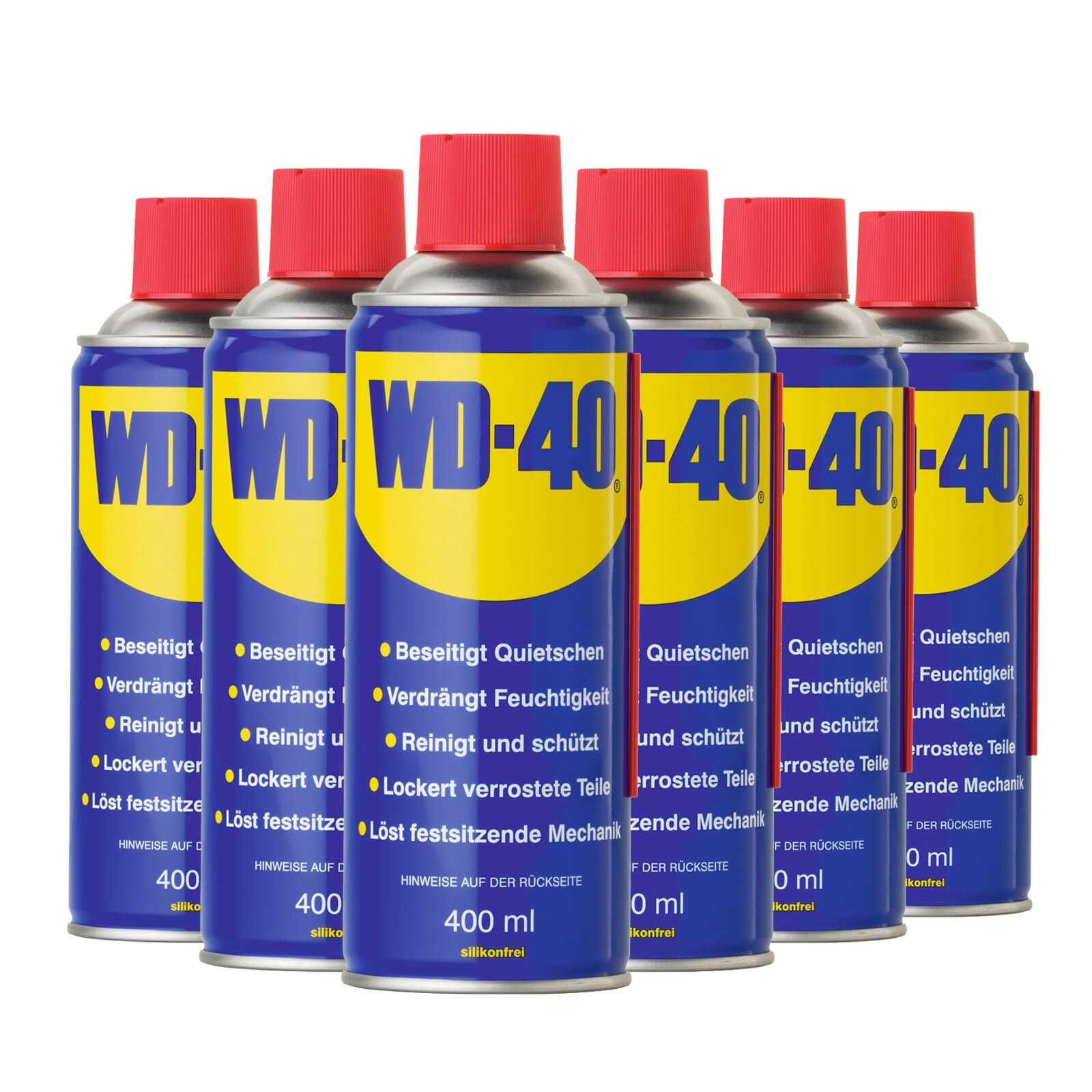 6x 400ml wd 40 multifunktions l vielzweck spray rostl ser. Black Bedroom Furniture Sets. Home Design Ideas
