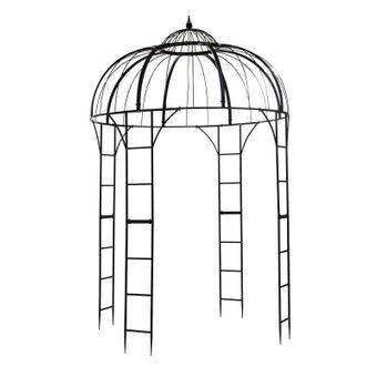 Metall Pavillon / Gartenpavillon Malcesine Ø 2 Meter – Bild $_i