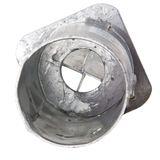 Pfostenträger Einschlagbodenhülse rund d=100mm feuerverzinkt