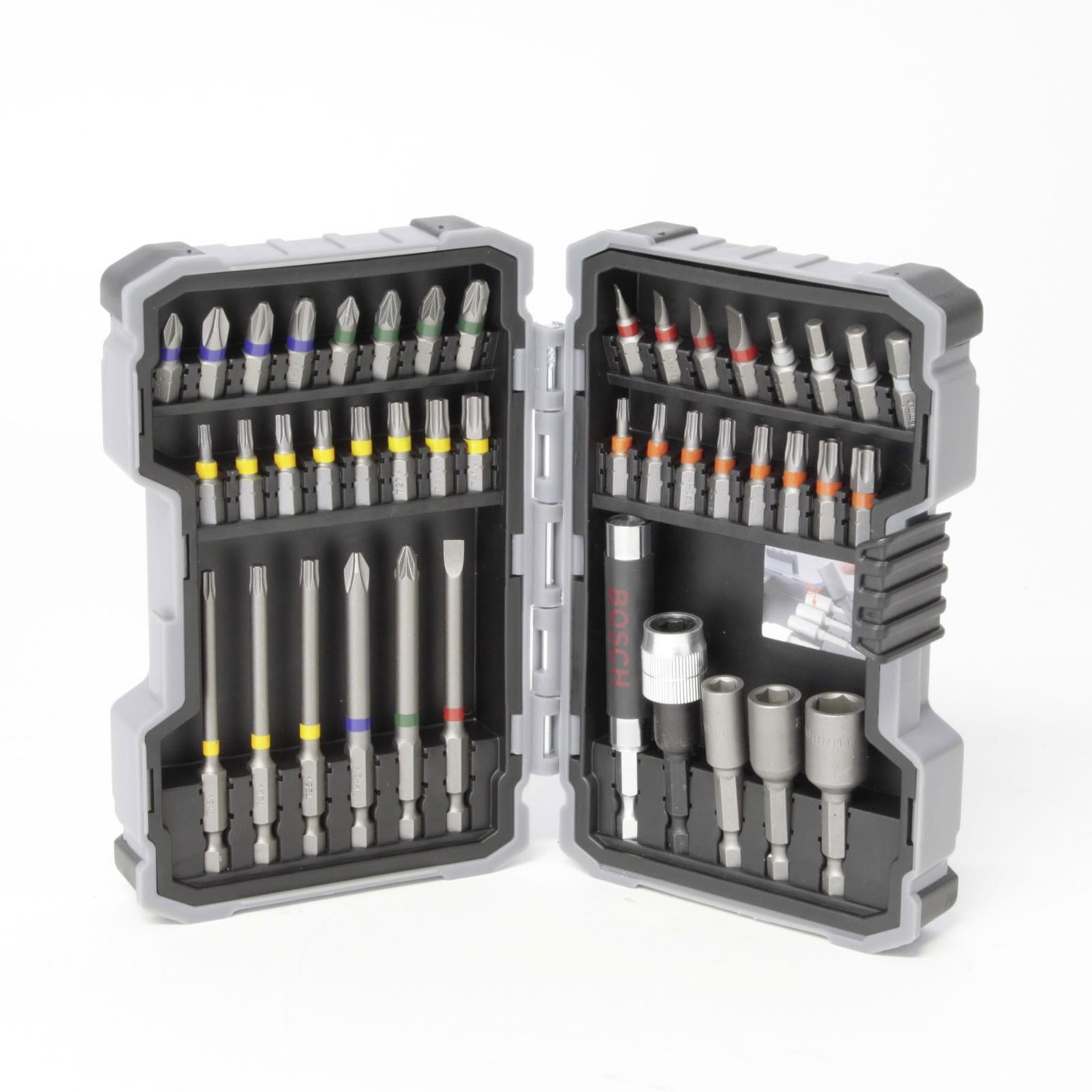 Bosch Akkuschrauber Bit-Set 43-teilig 12003