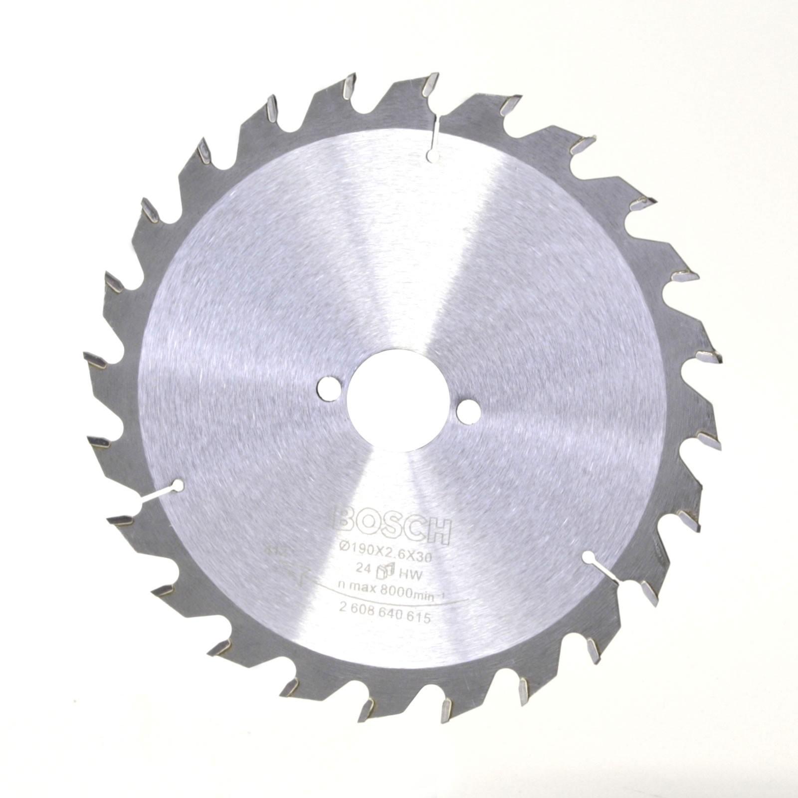 bosch sägeblatt für handkreissäge 190x30mm