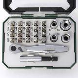 Bosch Bit-Set 26-tlg. mit Mini-Ratsche in Box