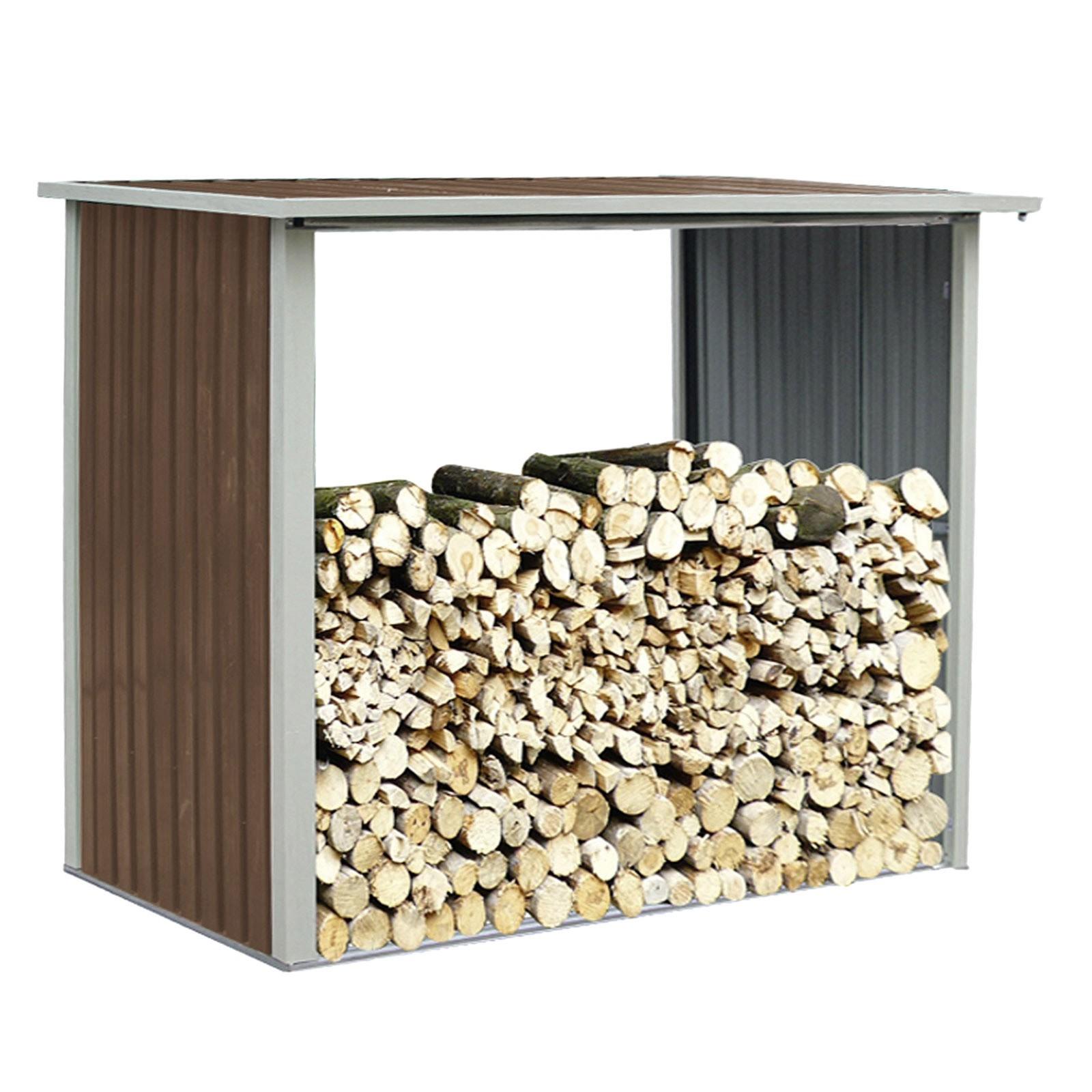 kaminholz brennholz stapelhilfe holzlager berdacht 243x89x190 kopenhagen. Black Bedroom Furniture Sets. Home Design Ideas