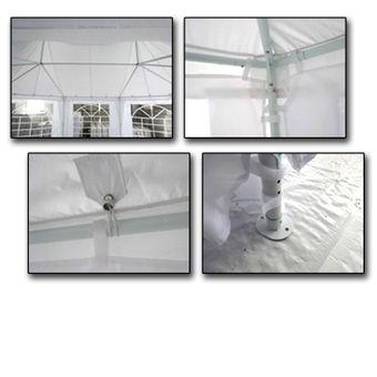 Pavillon / Gartenpavillon Abu Dhabi 4,5 x 6,1 m – Bild $_i